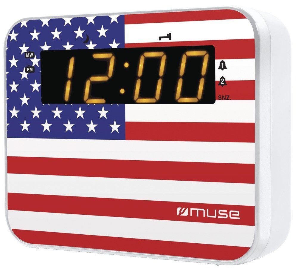 Muse Radiowecker im USA-Design »M-165 US«