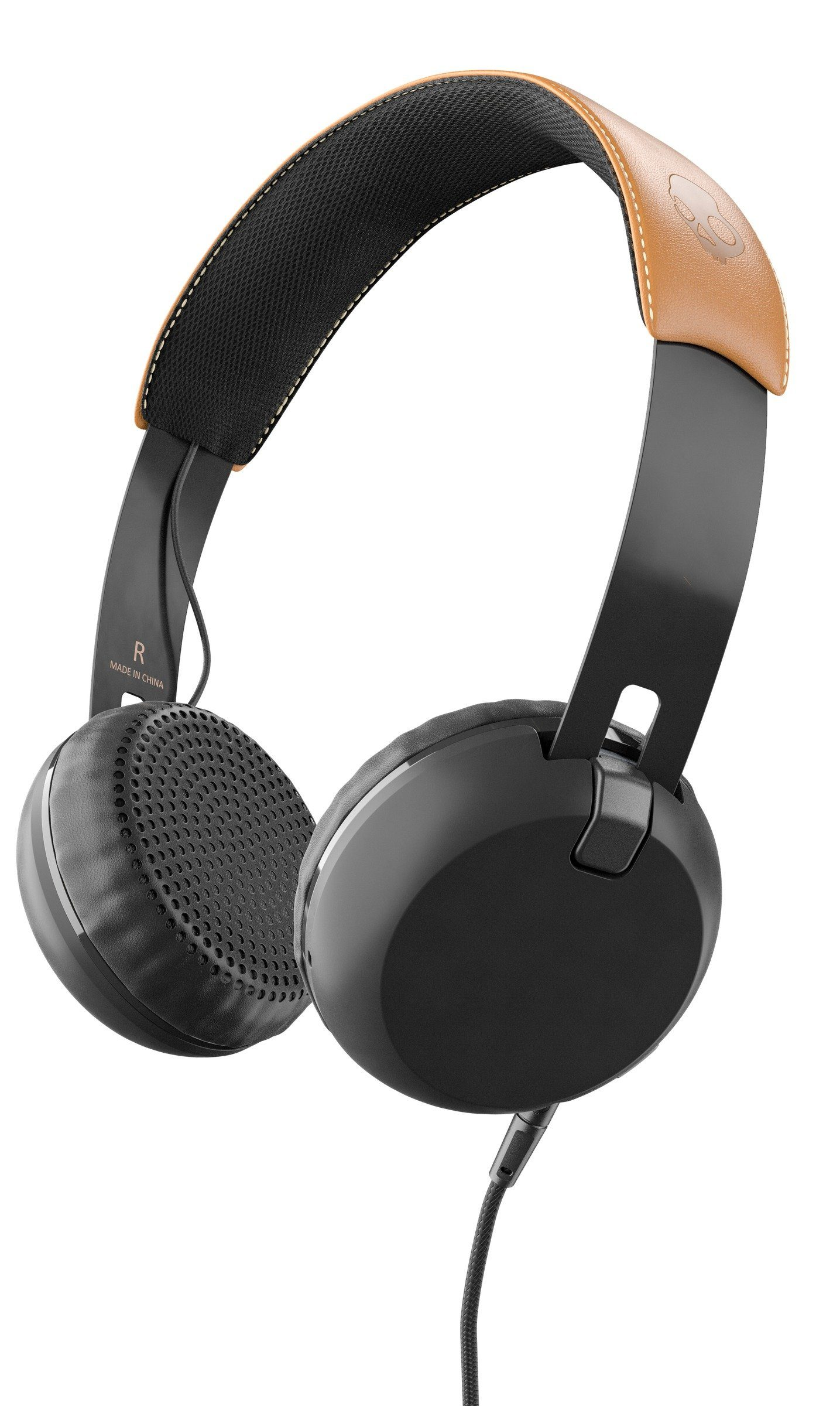 Skullcandy Headset »GRIND ON-EAR W/TAP TECH BLACK/BLACK/TAN«