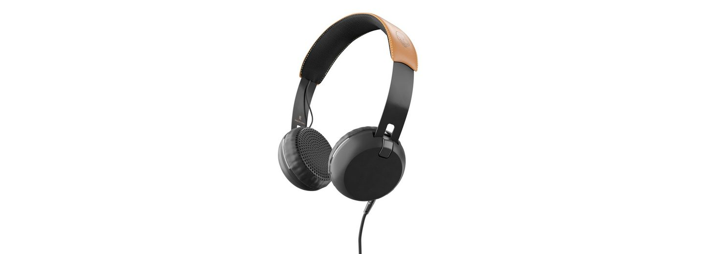 Skullcandy Headset »GRIND ON-EAR W/TAP TECH BLACK/BLACK/TAN«