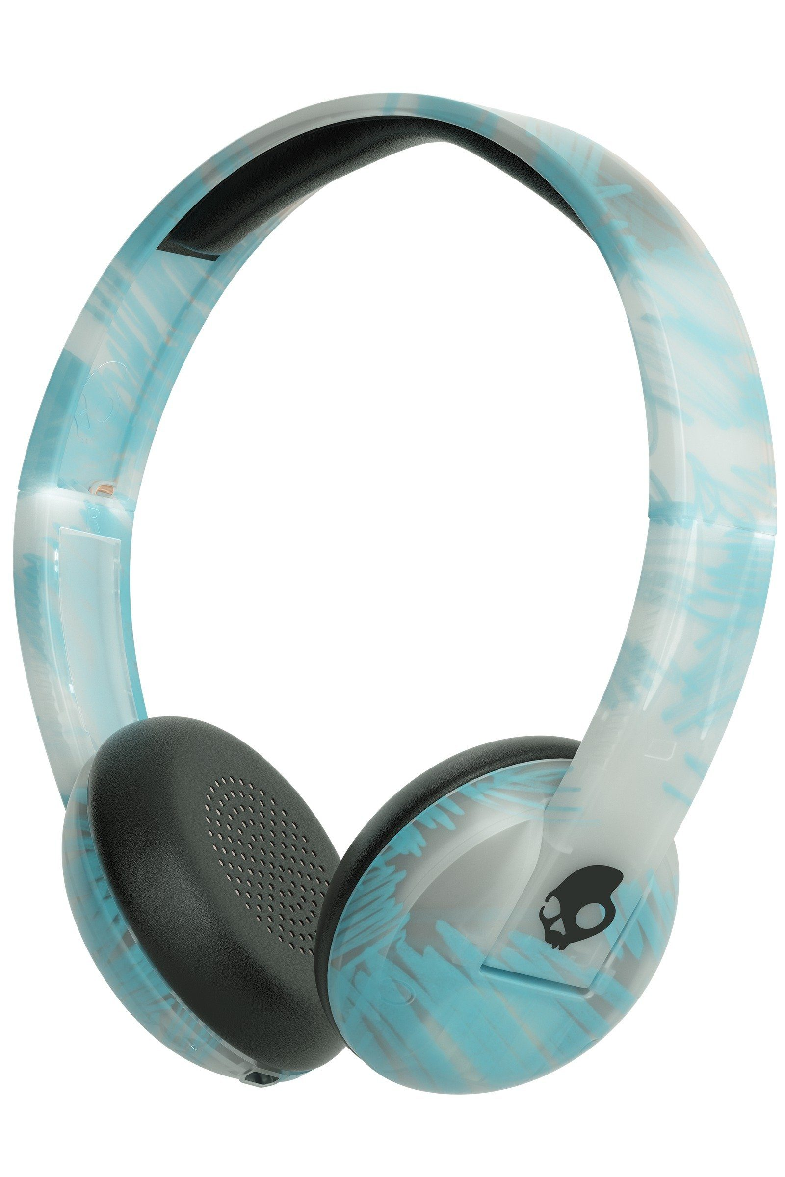 Skullcandy Headset »UPROAR ON-EAR WIRELESS CLEAR/SCRIBBLE/BLACK«