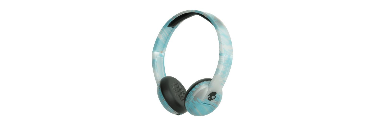 Skullcandy Headset »UPROAR ON-EAR WIRELESS CLEAR/SCRIBBLE/BLACK«