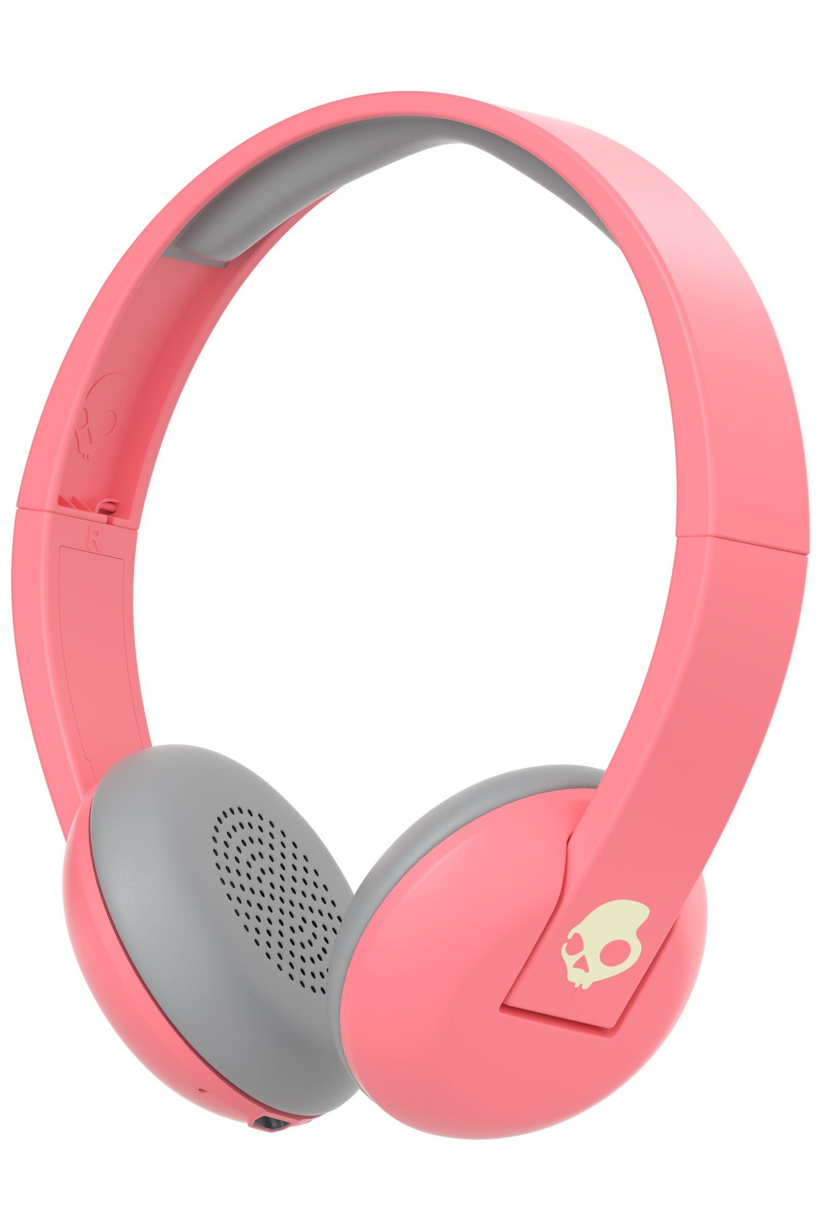 Skullcandy Headset »UPROAR ON-EAR WIRELESS CORAL/GRAY/CREAM«