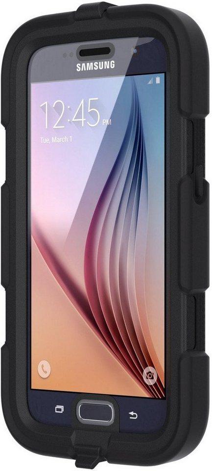 Griffin Handytasche »Rugged Case All-Terrain für Galaxy S7« in Schwarz-Transparent
