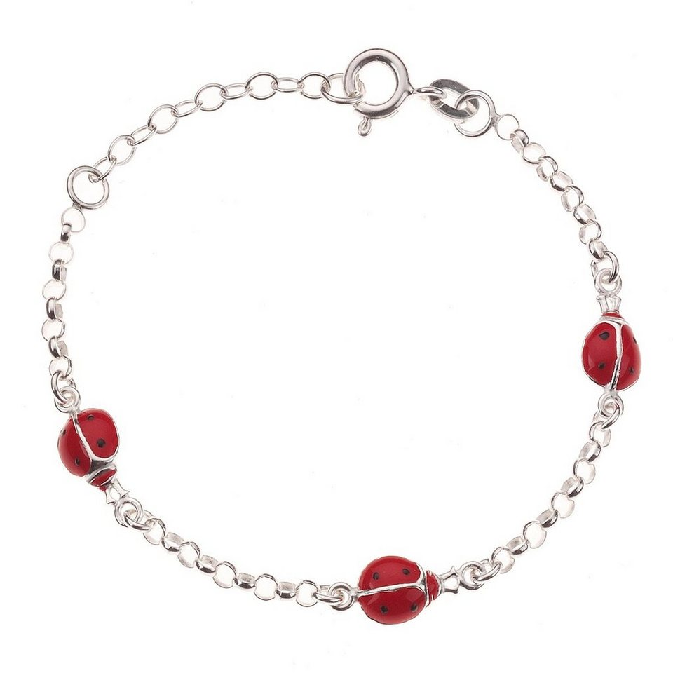 Zeeme Armband »Kinderarmband 925/- Sterling Silber« in weiß