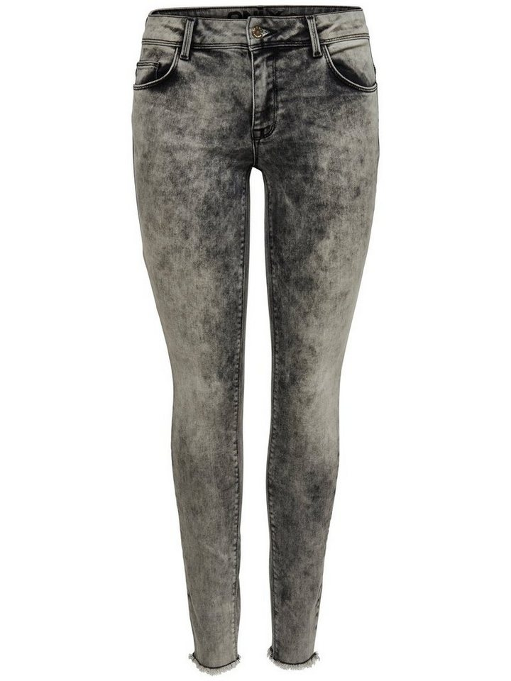 Only Ultimate ankle Skinny Fit Jeans in Grey Denim