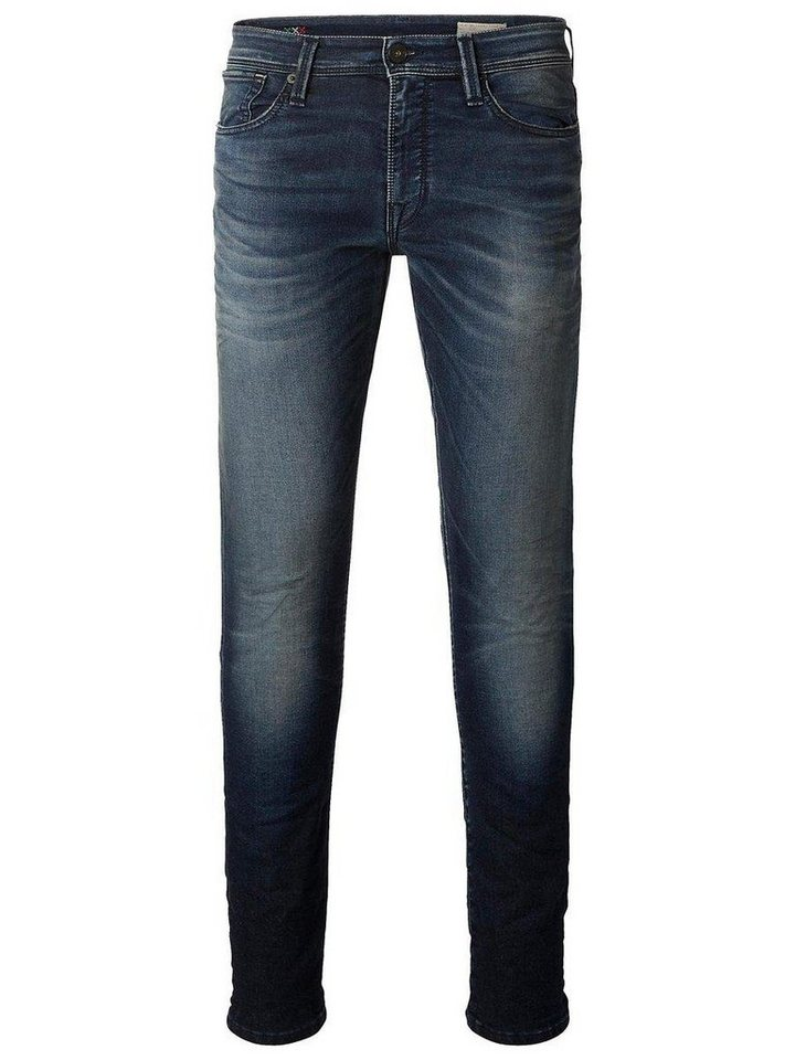 Selected Blaue Jeans in Dark Blue Denim