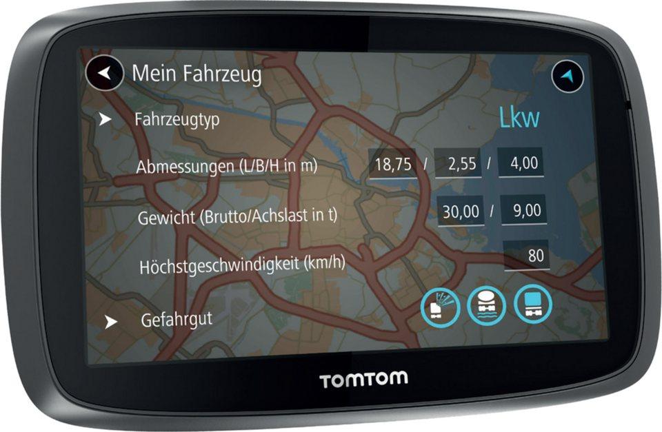 TomTom LKW-Navigationsgerät »TRUCKER 500« in Schwarz