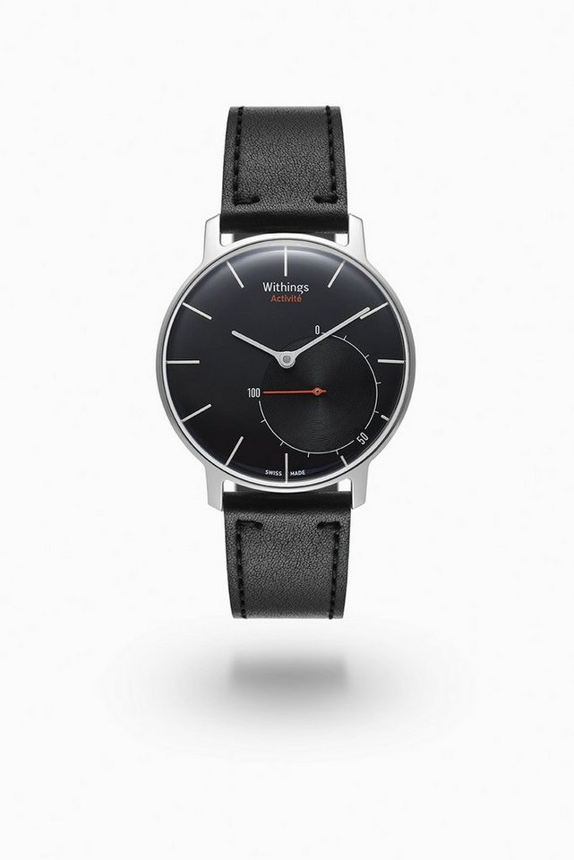 Withings Activity Tracker »Activité SAPPHIRE« in Schwarz-Silber