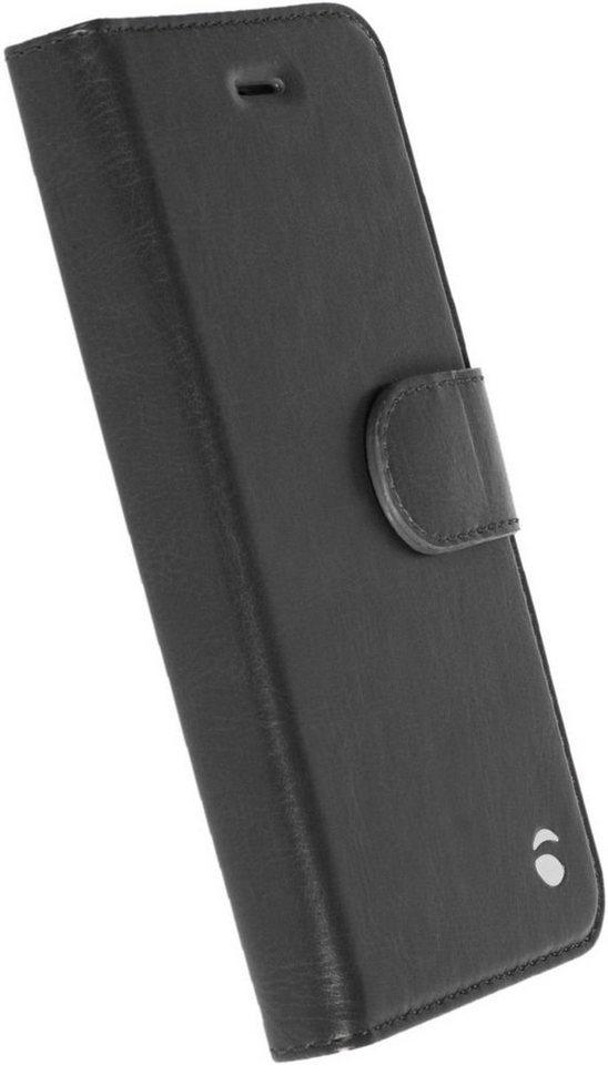 Krusell Handytasche »FolioWallet Ekerö 2 in 1 für Apple iPhone SE« in Schwarz