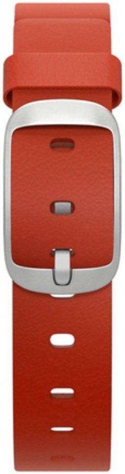 Pebble Ersatz-/Wechselarmband »Leder Armband für Time Round 14 mm« in Rot