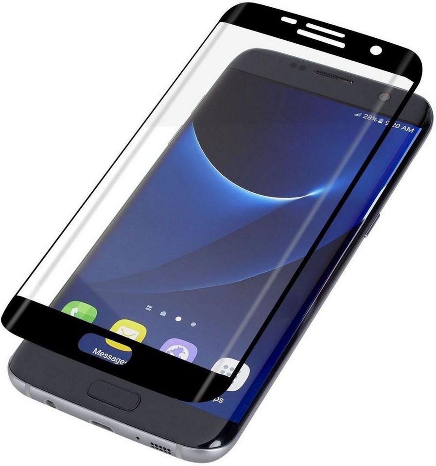 invisibleSHIELD Folie »Contour Glass für Galaxy S7 edge« in Schwarz-Transparent