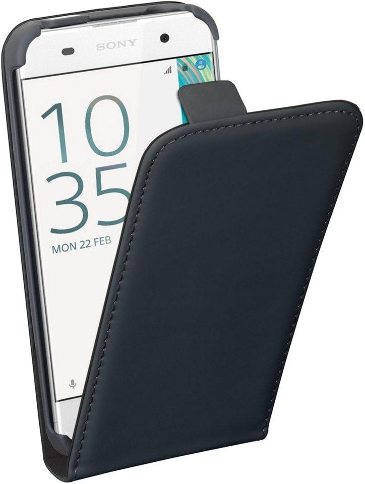 PEDEA Handytasche »Flip Cover Classic für Sony Xperia XA« in Schwarz