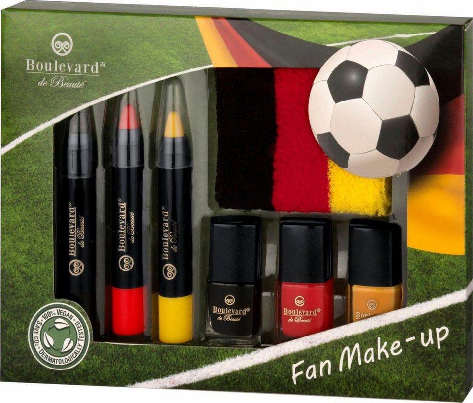 Boulevard de Beauté, »Fan Make-up«, Deutschland Schminkset für die Fußball-EM
