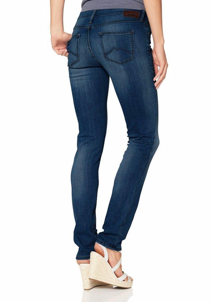 Mustang 5-Pocket-Jeans »Jasmin« Slim geschnitten in darkblue