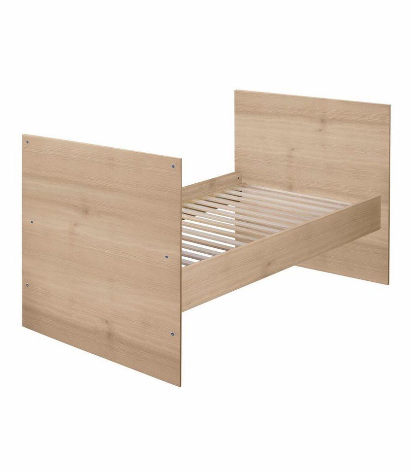 Umbauseiten zum Juniorbett für das Babybett »Sven«, in edelbuche in edelbuche
