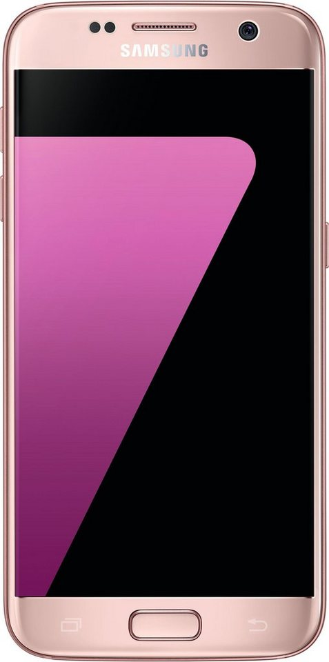 Samsung Galaxy S7 Smartphone, 12,9 cm (5,1 Zoll) Display, LTE (4G) in pink
