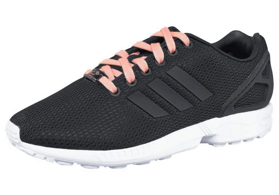adidas Originals ZX Flux W Sneaker in Schwarz-Pink