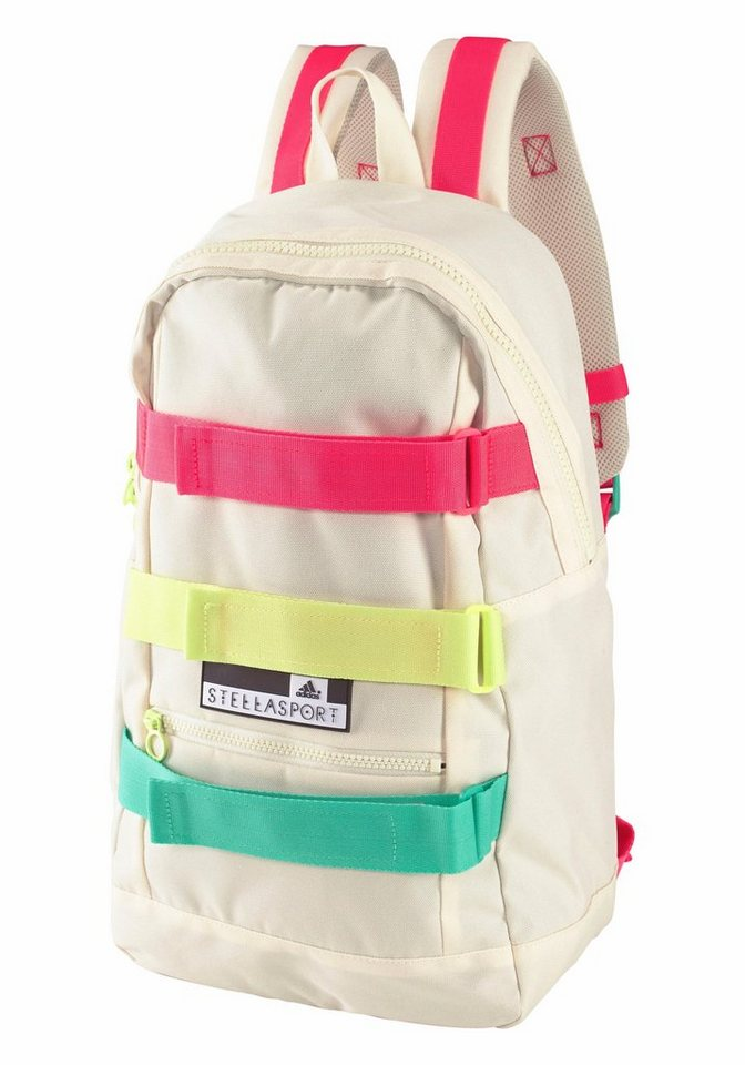 adidas Performance STELLASPORT BACKPACK STRAP Rucksack in beige-bunt
