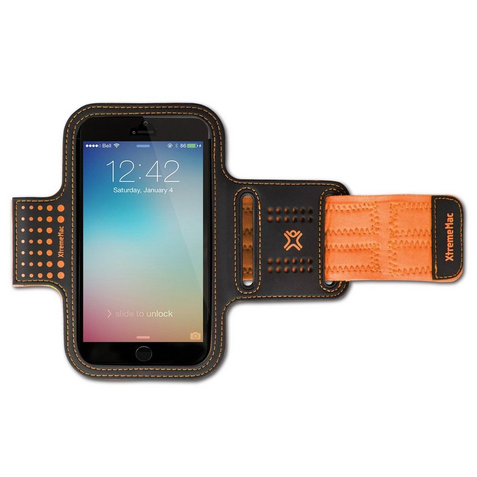 XtremeMac Sportwrap Armband für iPhone 6 / Samsung Galaxy 5S »SportWrap« in orange
