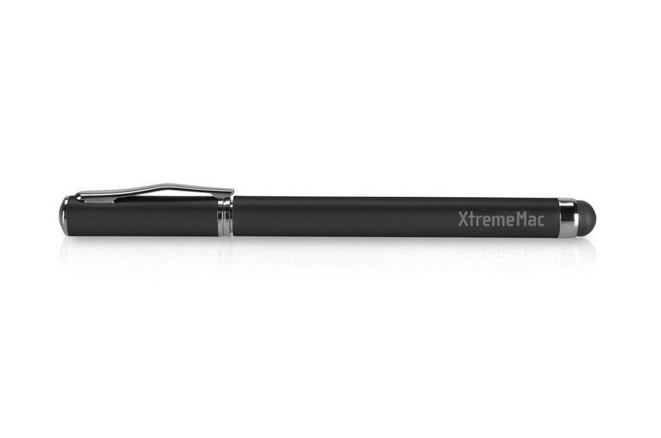 XtremeMac 2 in 1 Stylus Pen für Papier und Touchscreen in black