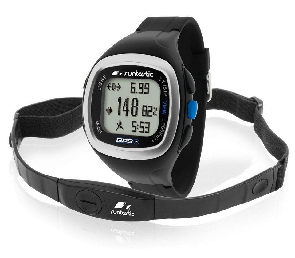 Runtastic GPS Uhr mit Herzfrequenz Brustgurt »Heart Rate GPS Watch« in black