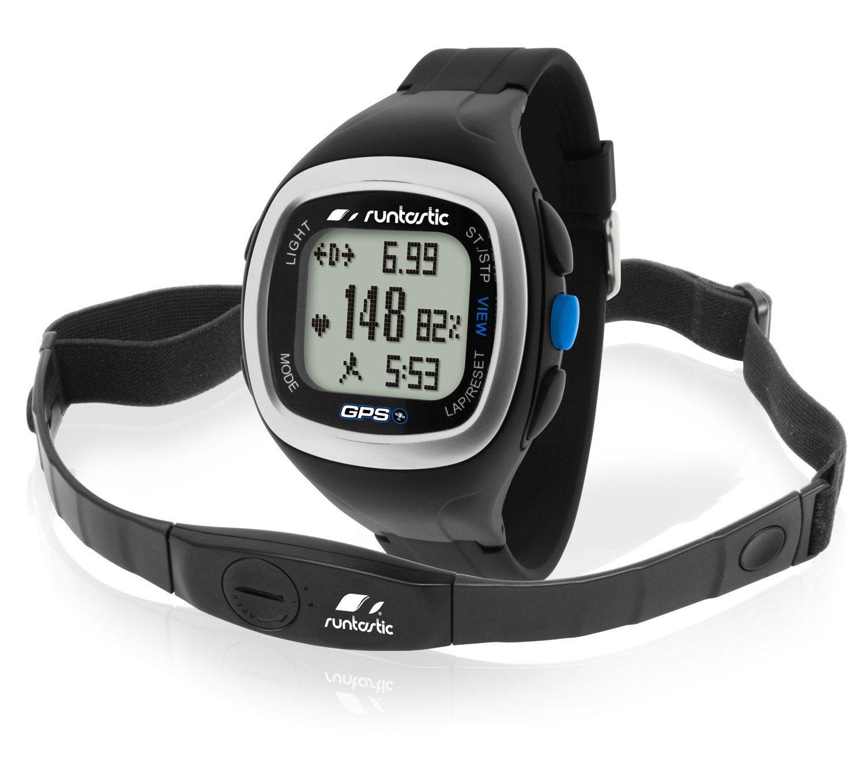 Runtastic GPS Uhr mit Herzfrequenz Brustgurt »Heart Rate GPS Watch«