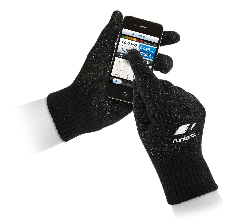 Runtastic Sporthandschuhe zum Bedienen von Smartphone und Tablet