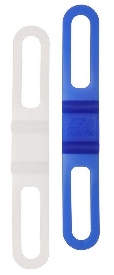 Runtastic Universale Smartphone Fahrradhalterung »Easy Bike Mount« 2-teilig in white & blue