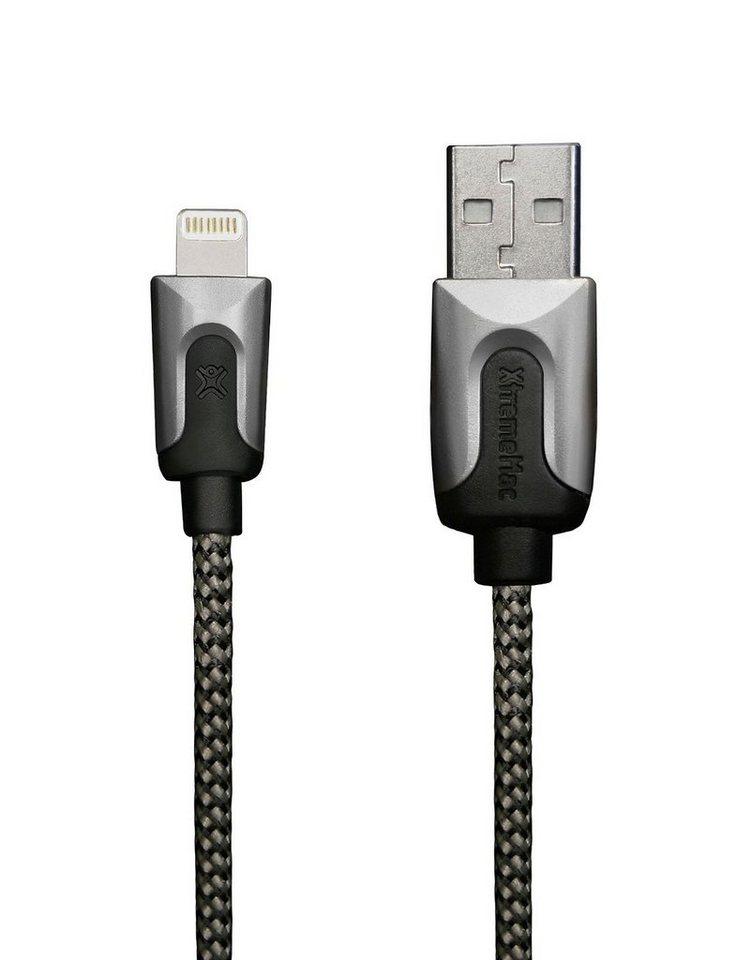 XtremeMac Lade- & Synchronisierungskabel 2m in black