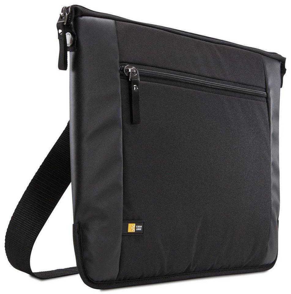 """Caselogic Schmale Notebook-Tasche 14"""" »Intrata Slim« in black"""