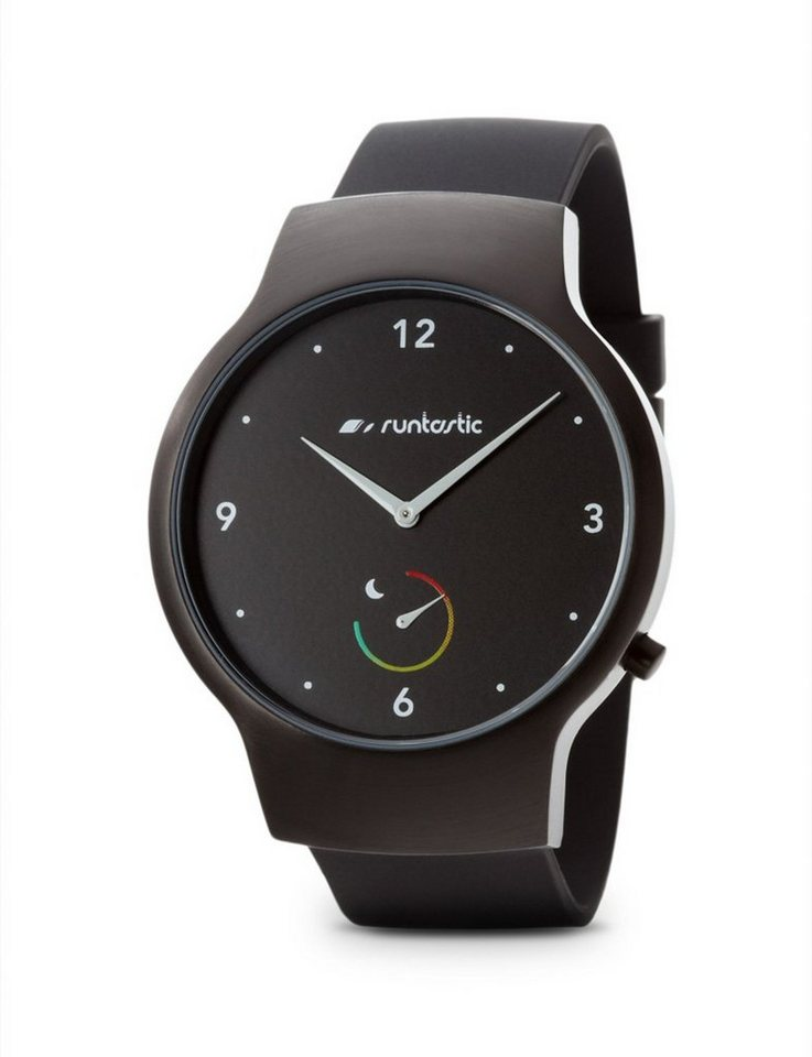 Runtastic Aktivitäts-, Fitness-, und Schlaftracker »Moment BASIC« in black