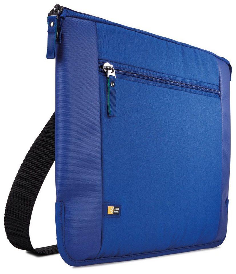 """Caselogic Schmale Notebook-Tasche 14"""" »Intrata Slim« in ion blue"""