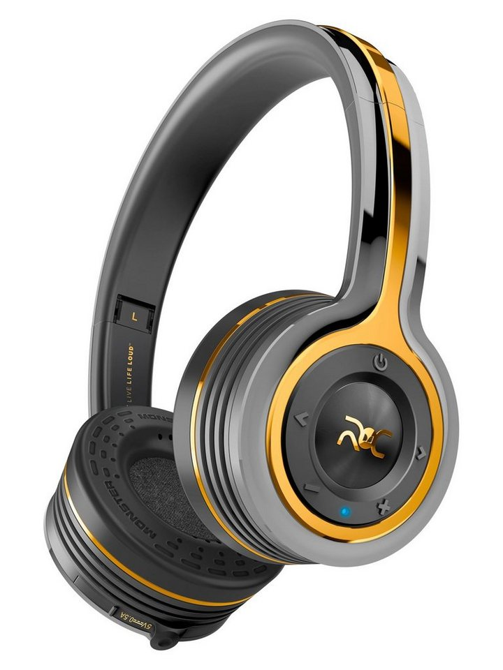 Monster Bluetooth On-Ear Kopfhörer »ROC Christiano Ronaldo Edition« in roc black platinum