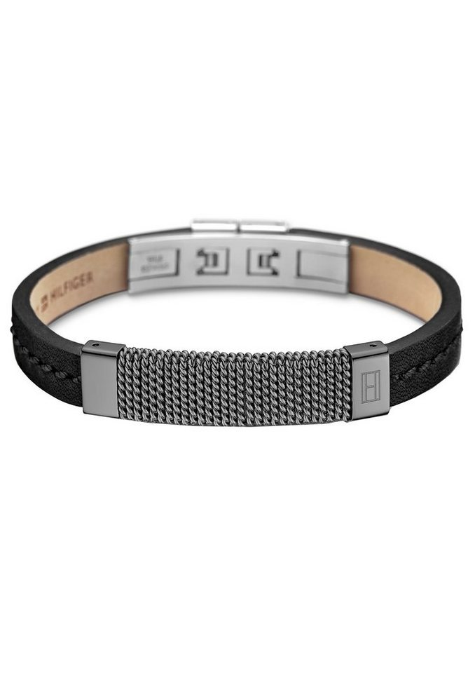Tommy Hilfiger Armband, »Men's Casual, 2700764« in silberfarben-schwarz