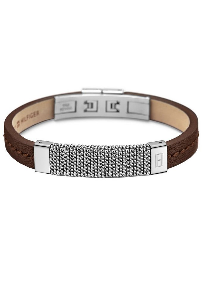 Tommy Hilfiger Armband, »Men's Casual, 2700763« in silberfarben-braun