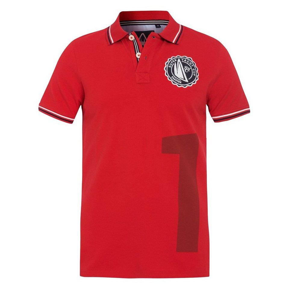 Gaastra Poloshirt in rot