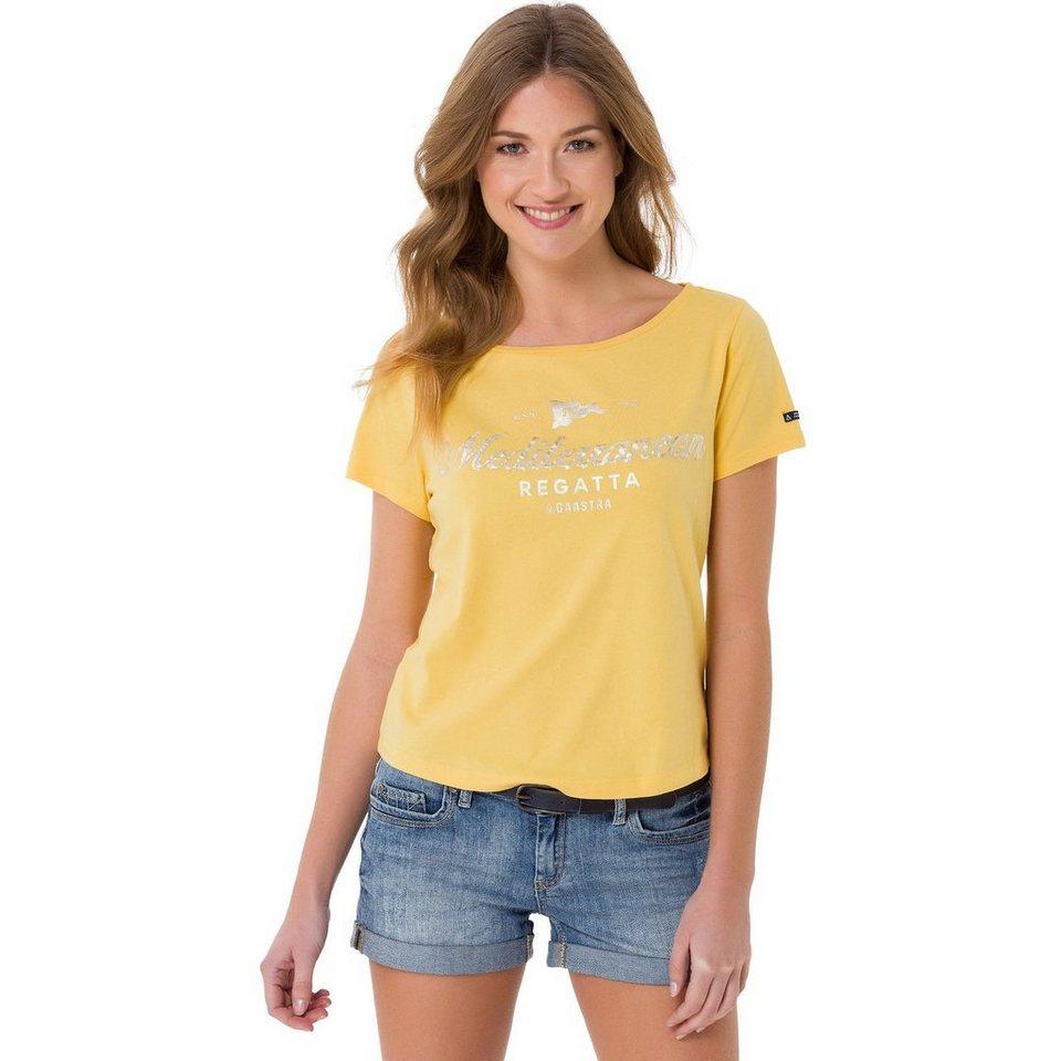 Gaastra T-Shirt in gelb