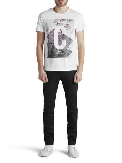 Jack & Jones Schlankes, bedrucktes T-Shirt
