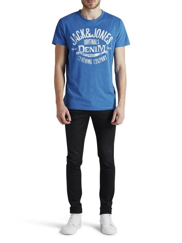 Jack & Jones Vielseitiges T-Shirt in Imperial Blue