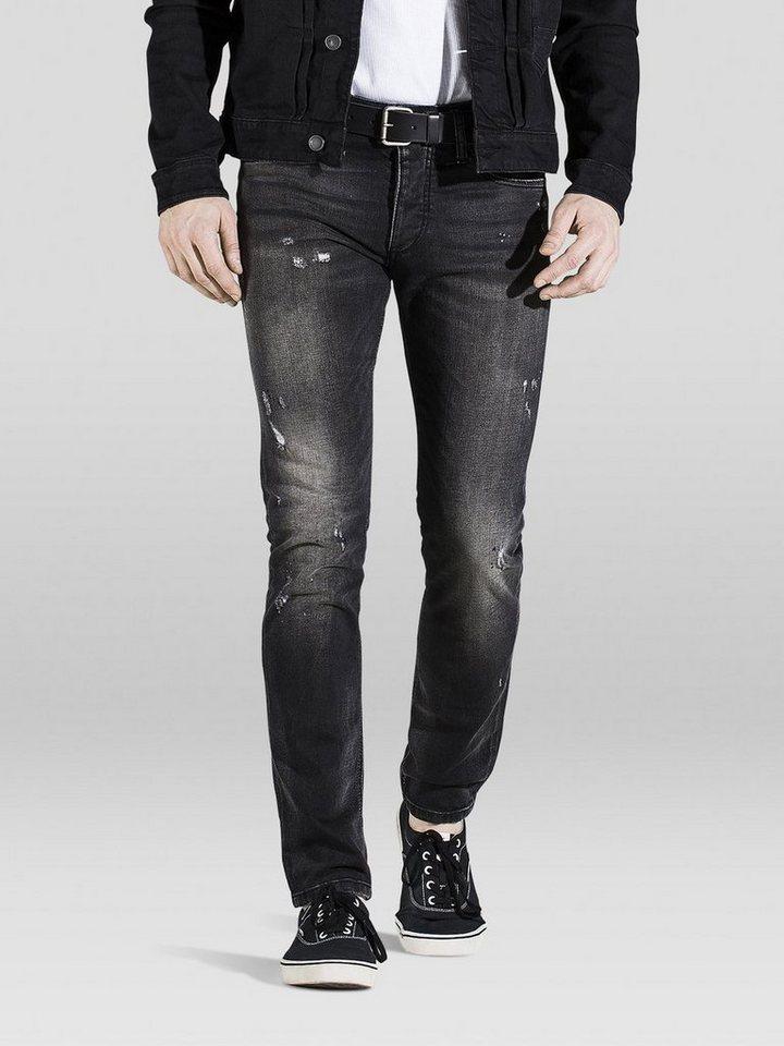 Jack & Jones Glenn Original jos 739 Slim Fit Jeans in Black Denim