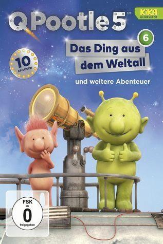 DVD »Q Pootle 5, Vol. 6 - Das Ding aus dem Weltall«