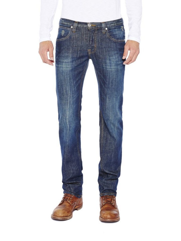 COLORADO DENIM Jeans »C942 LUKE Herren Jeans« in dark blue vintag