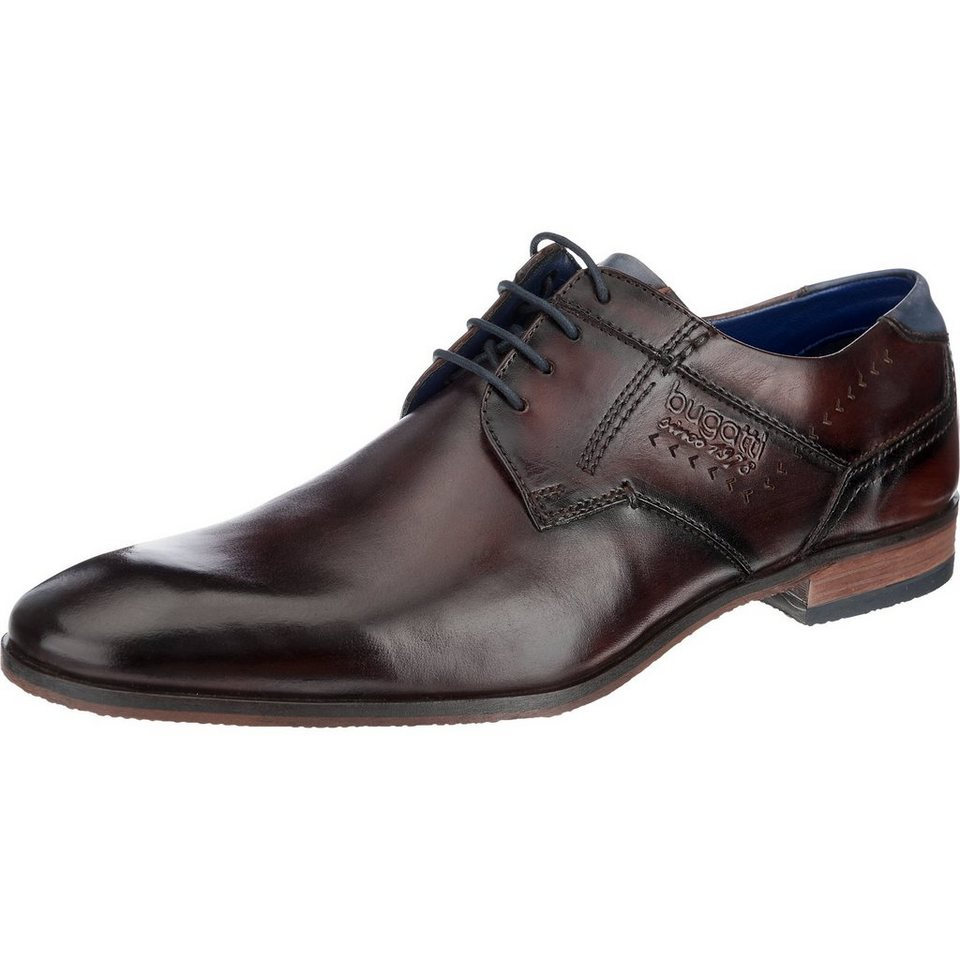 bugatti Business Schuhe in dunkelbraun
