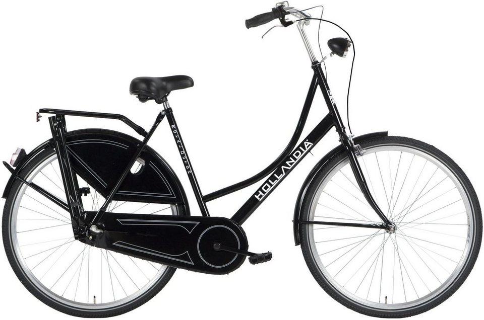 hollandia damen citybike 28 zoll 3 gang shimano. Black Bedroom Furniture Sets. Home Design Ideas