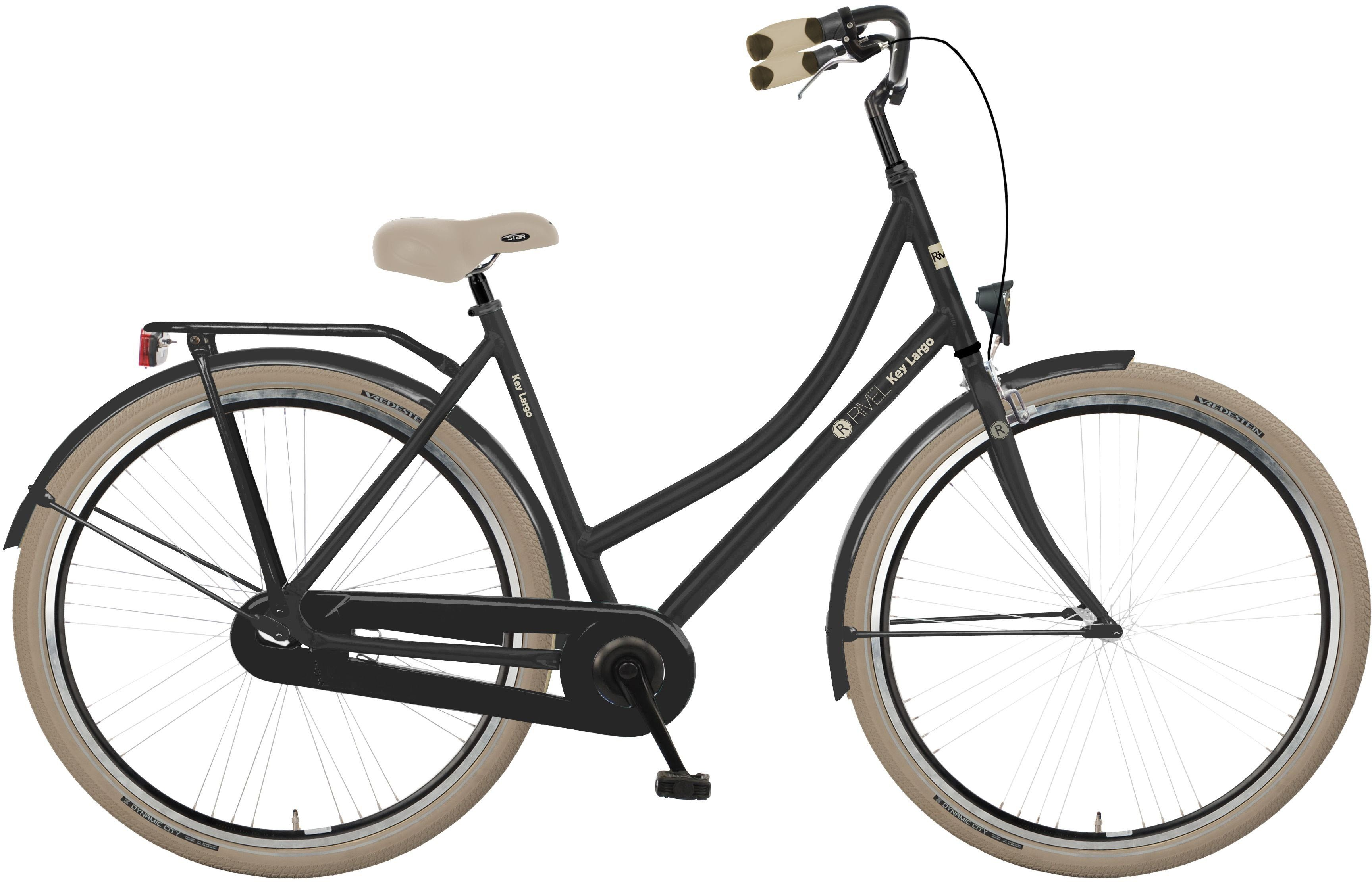 Rivel Damen Citybike, 28 Zoll, Singlespeed, Rücktritt, »Key Largo«