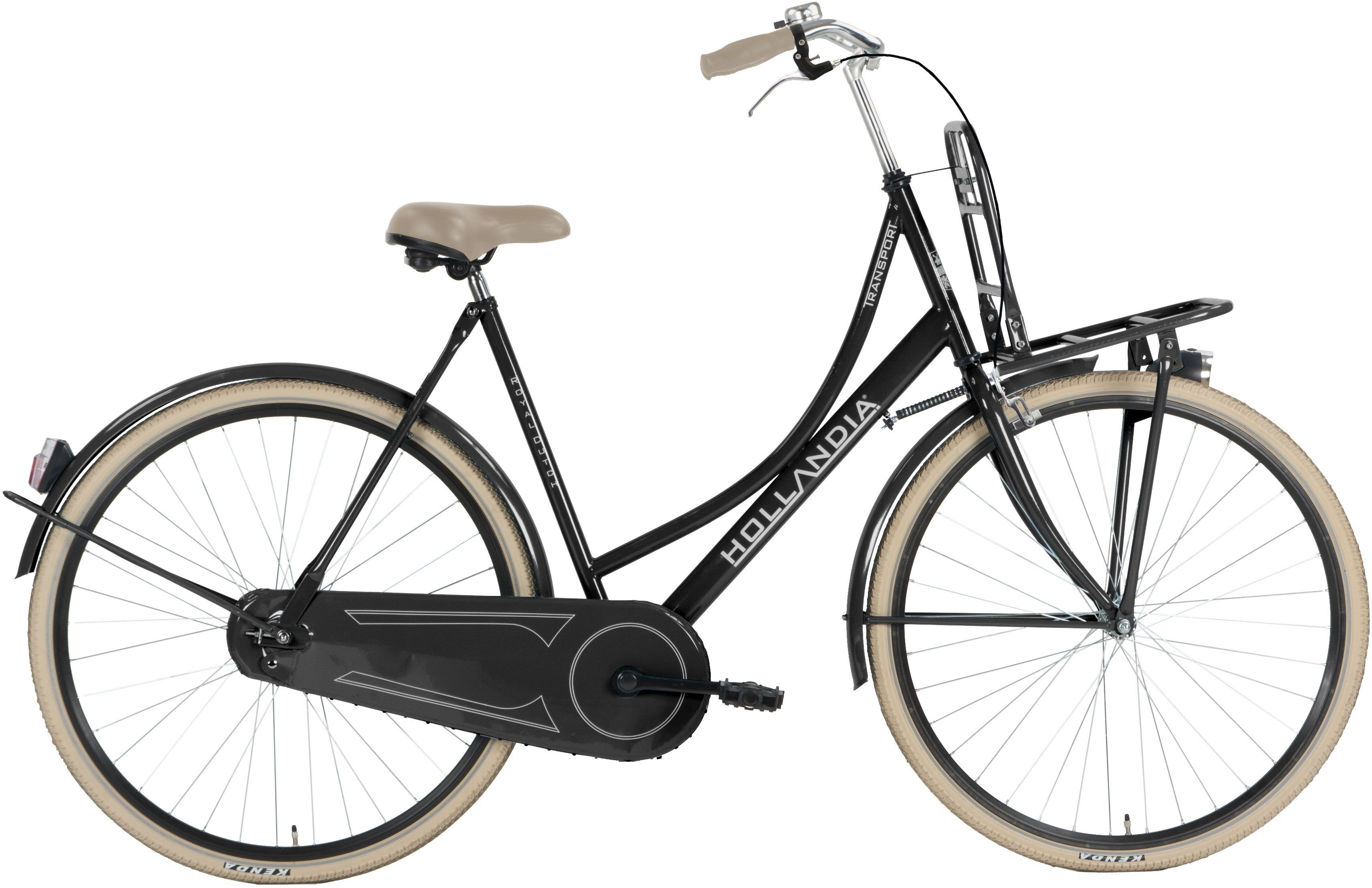Hollandia Damen Citybike, 28 Zoll, Singlespeed, Rücktritt, »Transport«