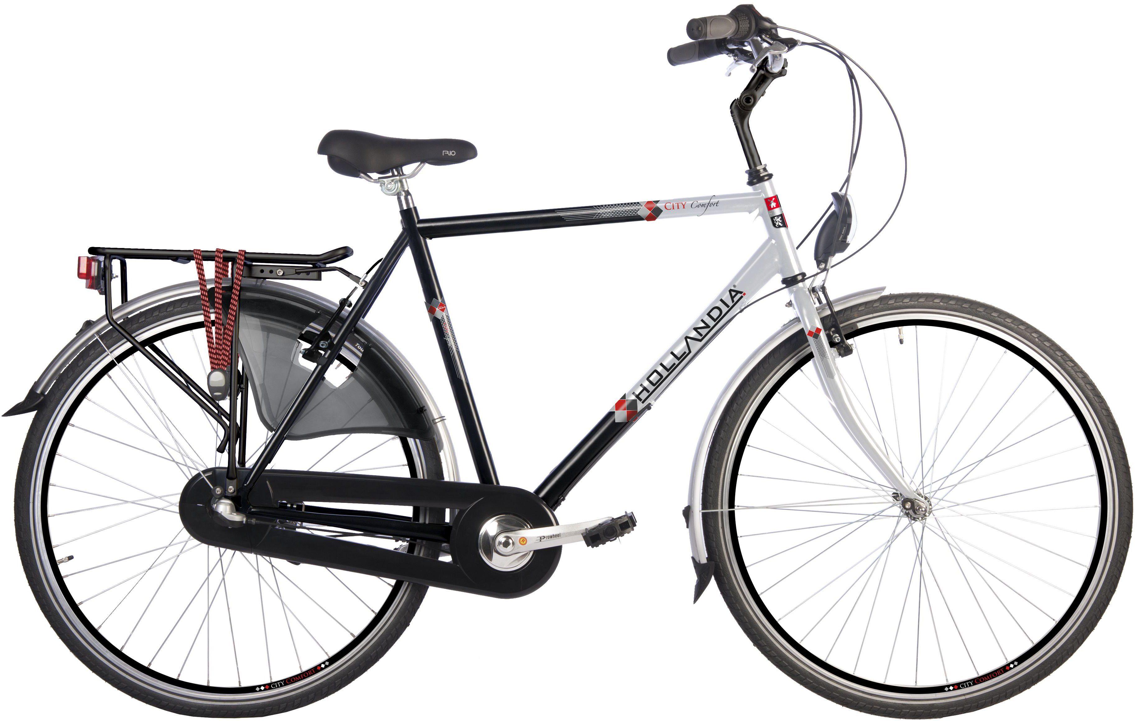 Hollandia Herren Citybike, 28 Zoll, 3 Gang Shimano Nabenschaltung, Rücktritt, »City Comfort«