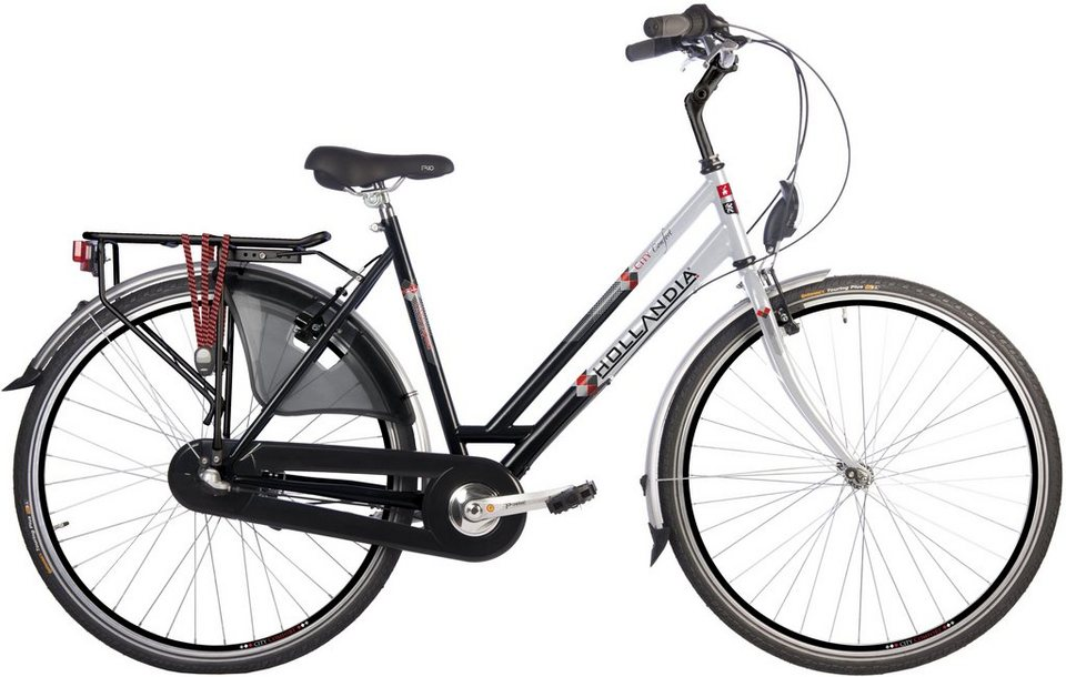 hollandia damen citybike 28 zoll 3 gang shimano. Black Bedroom Furniture Sets. Home Design Ideas