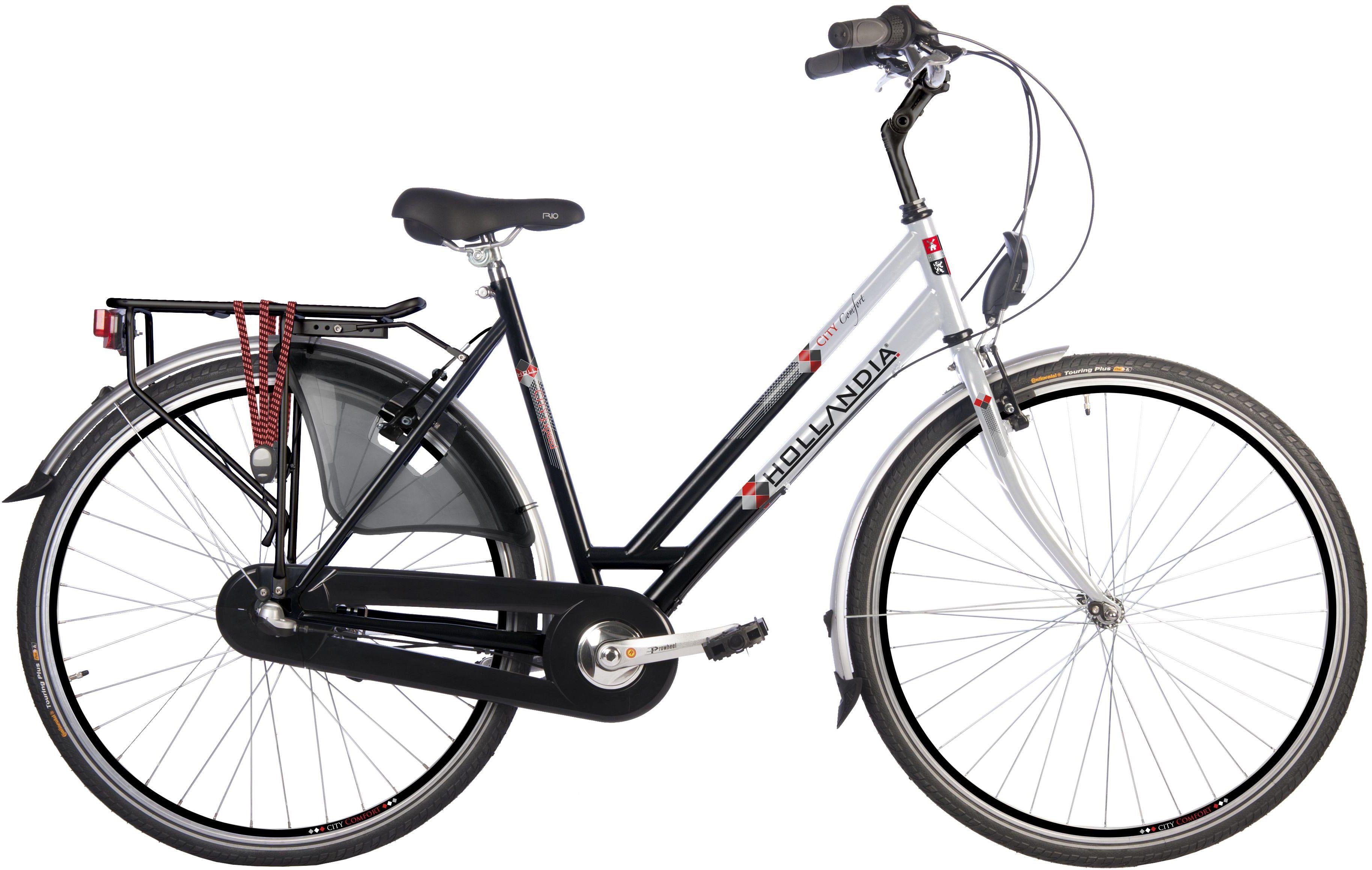 Hollandia Damen Citybike, 28 Zoll, 3 Gang Shimano Nabenschaltung, Rücktritt, »City Comfort«