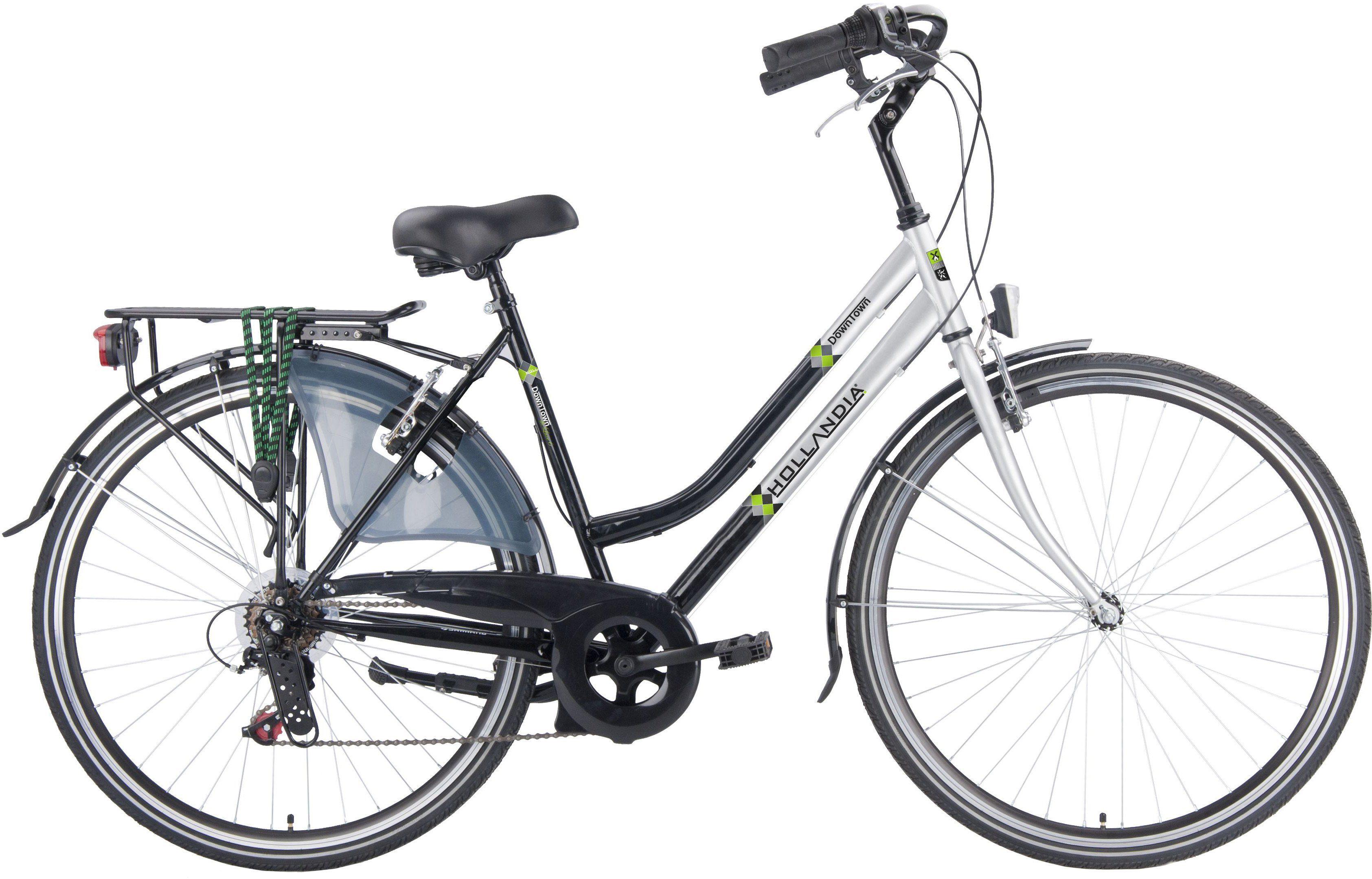 Hollandia Damen Citybike, 28 Zoll, 6 Gang Shimano Kettenschaltung, »City Comfort«